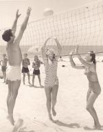Manhattan Beach Volley Ball - 1955